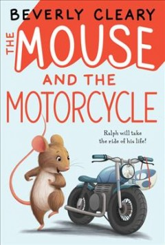 Bookjacket for The Mouse and the Motorcycle