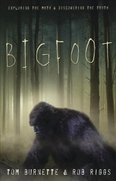 bookjacket for Bigfoot