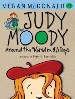 Bookjacket for  Judy Moody : Around the World in 8 1/2 Days