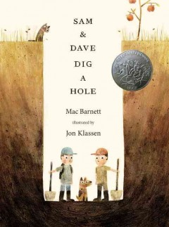 Bookjacket for  Sam and Dave Dig a Hole