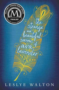 Bookjacket for The Strange & Beautiful Sorrows of Ava Lavender