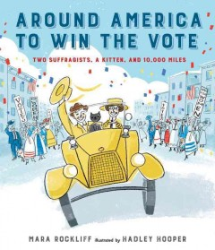 bookjacket for Around America to win the vote