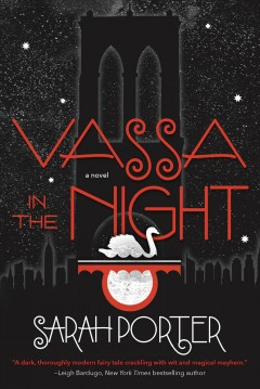 Bookjacket for  Vassa in the Night