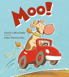 Bookjacket for  Moo!