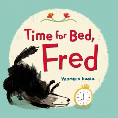 Bookjacket for  Time for bed, Fred!