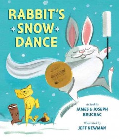 Bookjacket for  Rabbit's snow dance