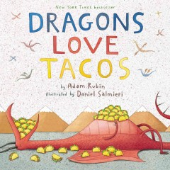 Bookjacket for  Dragons Love Tacos