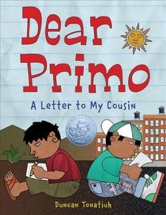 Bookjacket for  Dear Primo