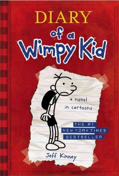 Bookjacket for  Diary of a wimpy kid, Greg Heffley's journal