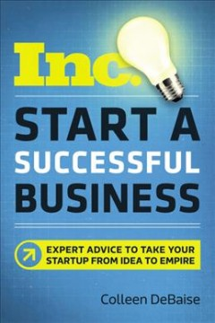 Bookjacket for  Start a successful business