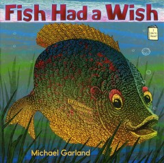 Bookjacket for  Fish had a wish
