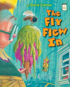 Bookjacket for The fly flew in
