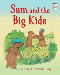 Bookjacket for  Sam and the big kids