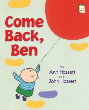 Bookjacket for  Come back, Ben