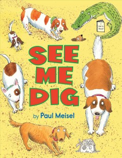 Bookjacket for  See me dig