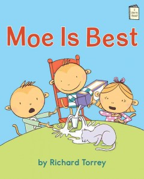 Bookjacket for  Moe is best