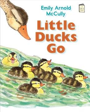 Bookjacket for  Little ducks go