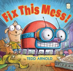 Bookjacket for  Fix this mess!