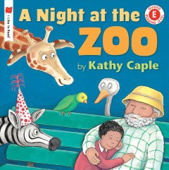 Bookjacket for A Night at the zoo