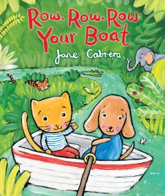 Bookjacket for  Row, row, row your boat