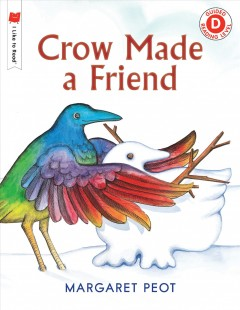Bookjacket for  Crow made a friend