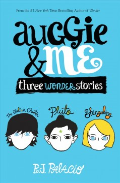 Bookjacket for  Auggie & Me