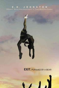 Bookjacket for  Exit, Pursued by a Bear
