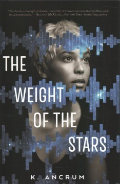 Bookjacket for The Weight of the Stars