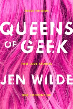 Bookjacket for  Queens of Geek