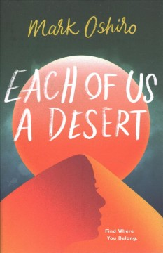 Bookjacket for  Each of Us a Desert