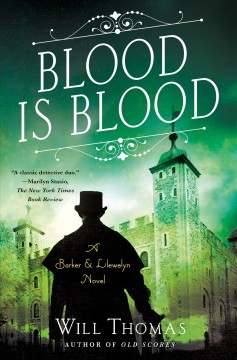 Bookjacket for  Blood is blood