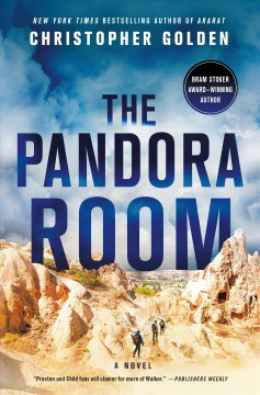 Bookjacket for The Pandora Room