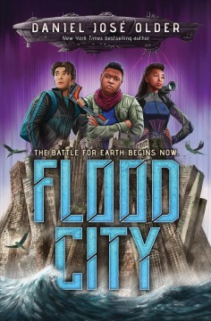 Bookjacket for  Flood City