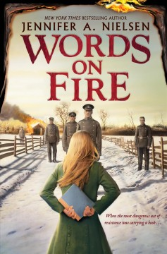 Bookjacket for  Words on Fire