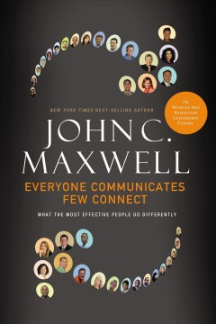 Bookjacket for  Everyone communicates, few connect