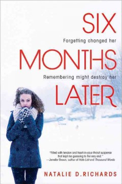Bookjacket for  Six Months Later