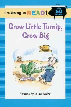 Bookjacket for  Grow little turnip, grow big