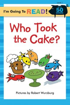 Bookjacket for  Who took the cake?