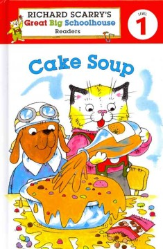 Bookjacket for  Cake soup