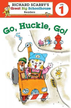 Bookjacket for  Go, Huckle, go!