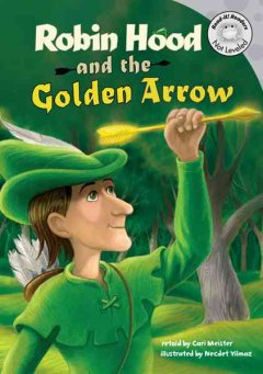 Bookjacket for  Robin Hood and the Golden Arrow