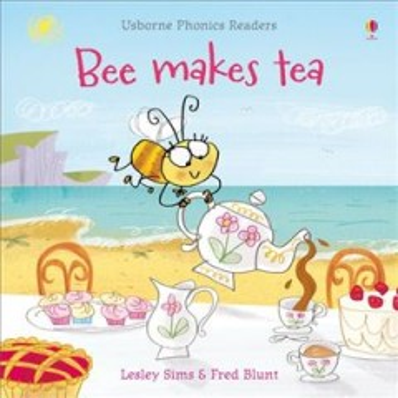 Bookjacket for  Bee makes tea