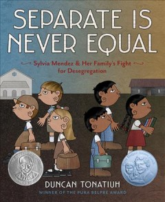 Bookjacket for  Separate is never equal