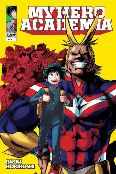 Bookjacket for  My hero academia