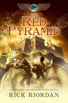 Bookjacket for The Red Pyramid