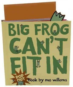 Bookjacket for  Big Frog can't fit in
