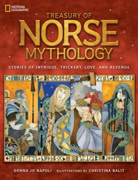 Bookjacket for  Treasury of Norse mythology