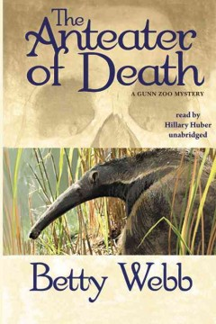 bookjacket for The anteater of death