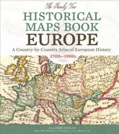 Bookjacket for The Family tree historical maps book, Europe