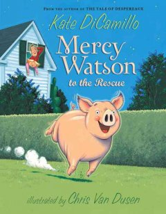 Bookjacket for  Mercy Watson to the Rescue
